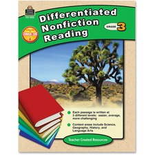 TCR 2920 Teacher Created Resources Gr 3 Differentiated Reading Book Printed Book