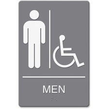 USS 4815 U.S. Stamp & Sign Men/Wheelchair Image Indoor Sign USS4815