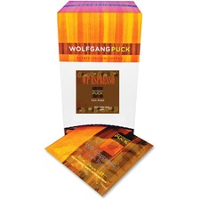 Wolfgang Puck Italian-style Roast Coffee Pods Pod for Espresso Brewer - Caffeinated - Italian Espresso Roast - Dark/Bold
