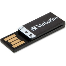 VER 43932 Verbatim Clip-it 8GB USB Drive VER43932