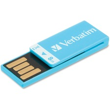VER 43934 Verbatim Clip-it 8GB USB Drive VER43934