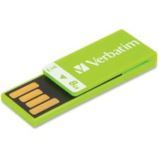 VER 43936 Verbatim Clip-it 8GB USB Drive VER43936