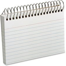 OXF 40282 Oxford Spiral Bound Ruled Index Cards OXF40282