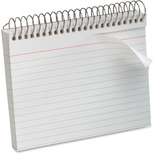 OXF 40283 Oxford Spiral Bound Ruled Index Cards OXF40283