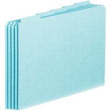 PFX PN205 Pendaflex 1/5-cut Blank Tab Pressboard File Guides PFXPN205