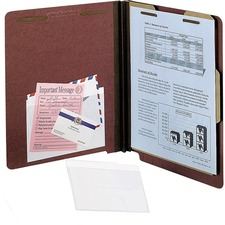 PFX 99375 Pendaflex Self-Adhesive Clear Vinyl Pockets PFX99375