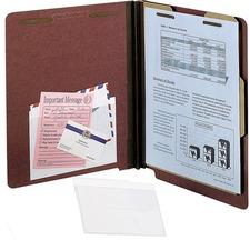PFX 99376 Pendaflex Self-Adhesive Clear Vinyl Pockets PFX99376