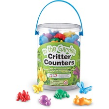 Learning Resources In The Garden Critter Counters - Multi