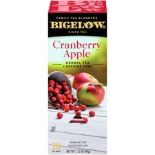 BTC 10400 Bigelow Cranberry Apple Herbal Tea  BTC10400