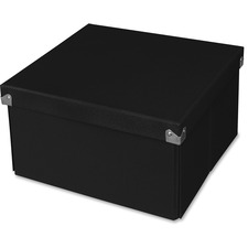 SAM PNS02LSBK Samsill Medium Square Folding Storage Box System SAMPNS02LSBK