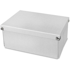 SAM PNS04LSWE Samsill Med. Rectangle Folding Storage Box System SAMPNS04LSWE
