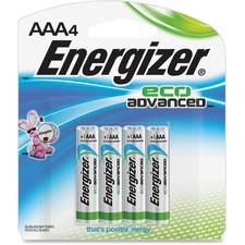 EVE XR92BP4 Energizer EcoAdvanced AAA Batteries EVEXR92BP4