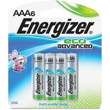 EVE XR92BP6 Energizer EcoAdvanced AAA Batteries EVEXR92BP6
