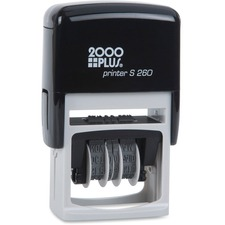COS 011098 Cosco 5-year Date Band Message Stamp COS011098