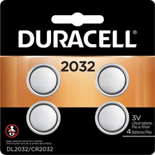 DUR DL2032B4PK Duracell Lithium 3V Medical Battery DURDL2032B4PK