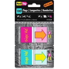 RTG 72038 Redi-Tag Self-adhesive Fab Flags RTG72038