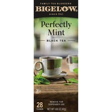 BTC 10344 Bigelow Plantation Mint Black Tea BTC10344