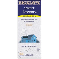 BTC 10396 Bigelow Sweet Dreams Herbal Tea BTC10396