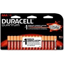 DUR QU2400B16Z Duracell 2400 Series Quantum AAA Batteries DURQU2400B16Z