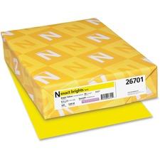 WAU 26701 Wausau Neenah Exact Brights Paper WAU26701