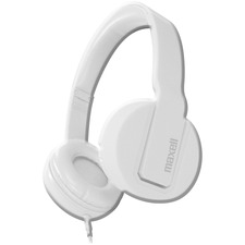 MAX 290107 Maxell Solid2 White Headphones MAX290107