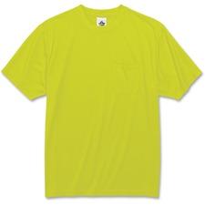 EGO 21555 Ergodyne GloWear Non-certified Lime T-Shirt EGO21555