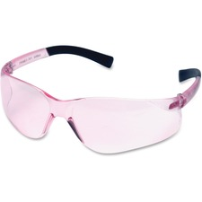 PGD 8217007 Impact Pink Lens Frameless Safety Eyewear PGD8217007