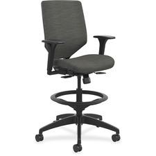 HON SVSU1ACLCO10 HON Solve Seating ReActiv Fabric Back Task Stool HONSVSU1ACLCO10