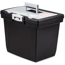 STX 61522B04C Storex Ind. Nesting Portable File Box STX61522B04C