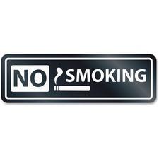 USS 9432 U.S. Stamp & Sign No Smoking Window Sign USS9432