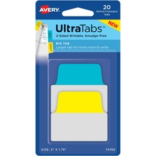 AVE 74765 Avery Big Tab Ultra Tabs AVE74765