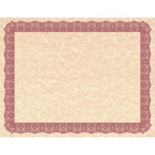 GEO 47848 Geographics Braided Border Blank Certificates GEO47848