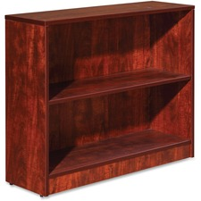 LLR 59511 Lorell Essentials Series Cherry Laminate Bookcase LLR59511