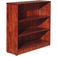 LLR 59565 Lorell Essentials Series Cherry Laminate Bookcase LLR59565