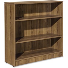 LLR 59566 Lorell Essentials Series Walnut Laminate Bookcase LLR59566