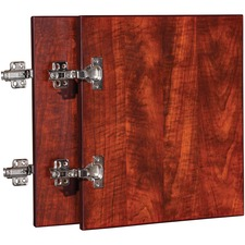 LLR 59573 Lorell Essentials Cherry Wall Hutch Door Kit LLR59573