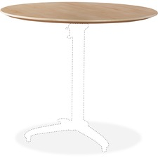LLR 59619 Lorell Foldable Hospitality Table Maple Tabletop LLR59619