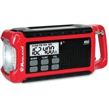 MRO ER210 Midland Radio ER210 E-Ready Emergency Crank Radio MROER210