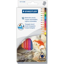 STD 1271C12A6 Staedtler Watercolor Pencils Set STD1271C12A6