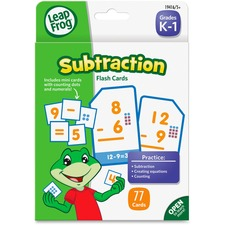 BDU DDV04 Board Dudes Leap Frog K-1 Subtraction Flash Cards BDUDDV04