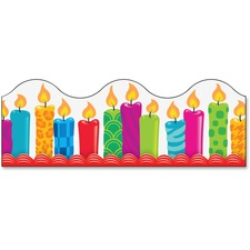 TEP 92855 Trend Birthday Candles Board Trimmers TEP92855