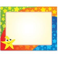 GEO 49989 Geographics Color Stars Border Certificates GEO49989