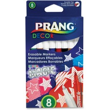DIX 74108 Dixon Prang Decor Magic Erasable Markers DIX74108