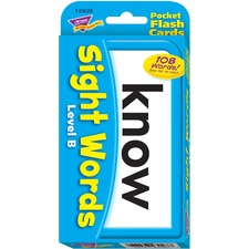 TEP 23028 Trend Sight Words Level B Flash Cards TEP23028