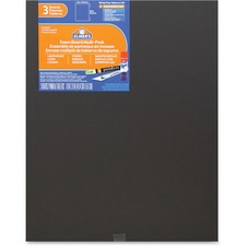 EPI 950025 Elmer's 3-pack Black Foam Boards EPI950025
