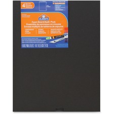 EPI 950024 Elmer's 4-pack Black Foam Boards EPI950024
