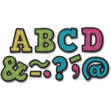 """TCR 77190 Teacher Created Res. 2"""" Bold Block Magnet Letters TCR77190"""