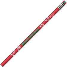 MPD 7901B Rose Moon Inc. Merry Christmas Themed Pencils MPD7901B