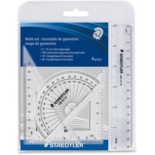 STD 569WP4 Staedtler 4 Piece Math Set STD569WP4