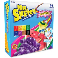 SAN 1924062 Sanford Mr. Sketch Scented Washable Markers SAN1924062